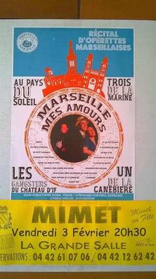 Affiche marseille mes amours