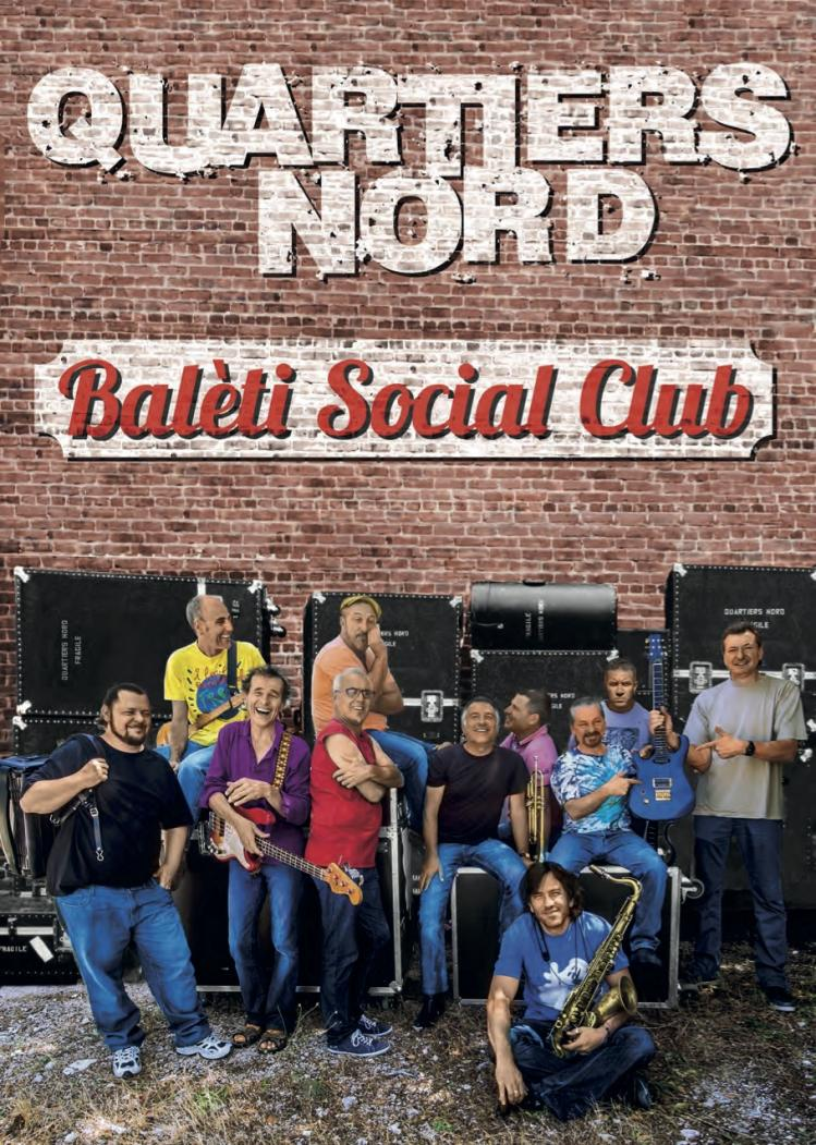 Baleti social club flyer