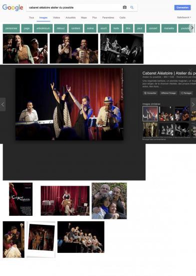 Cabaret ale atoire atelier du possible recherche google
