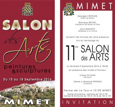 Invitation 2016 salon des arts