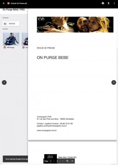 On purge be be pro google drive